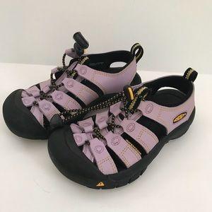 Girls Lavender Keen Waterproof Sandals Newport
